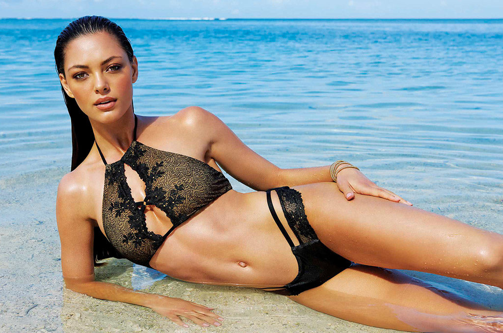 Demi Leigh Cover X on Shane Van Der Westhuizen Swimsuit