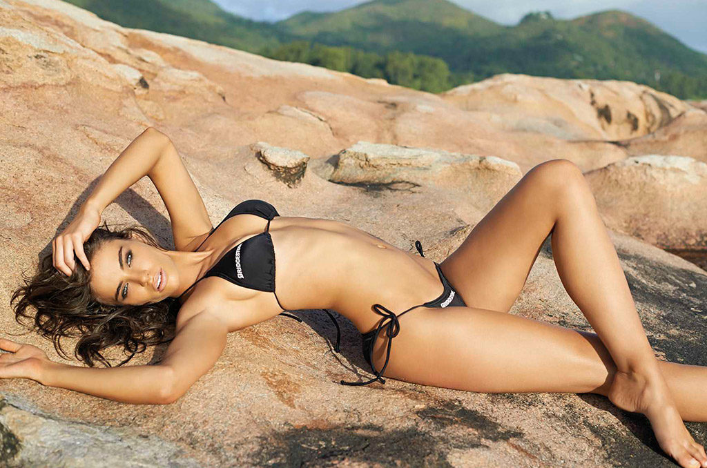Nicole Meyer X on Shane Van Der Westhuizen Swimsuit